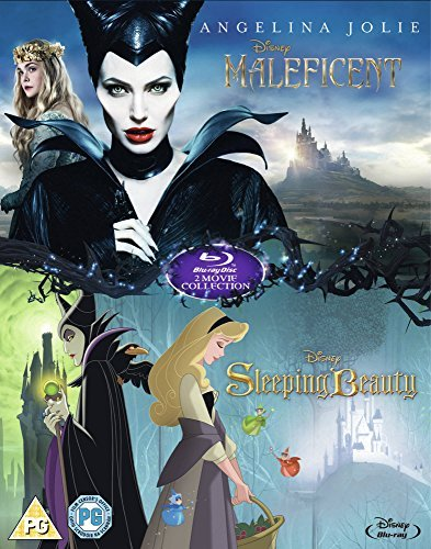 Maleficent/Sleeping Beauty Double Pack [Blu-ray] [Region Free] (The Lion King Diamond Edition Blu Ray)