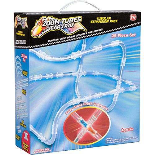 Zoom Tubes RC Car Trax, 25-Pc Tubular Expansion Kit, Racer NOT Included (As Seen on TV)