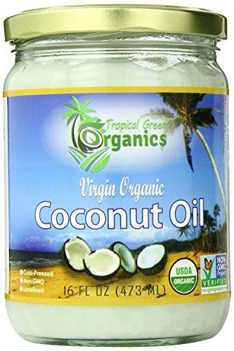 Tropical Green Organics Virgin Coconut Oil, 16 Ounce