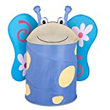 Honey-Can-Do HMP-02059 Kid's Pop-Up Hamper, Butterfly, Large