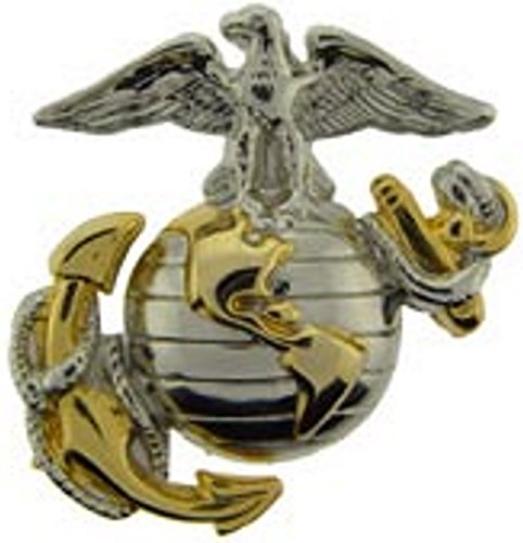 Marine Corps Emblem Silver Lapel product image