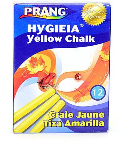 (Prang Hygieia Dustless Board Chalk (Yellow) 9 pcs sku# 1841550MA)