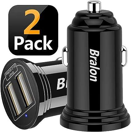 Amazon.com: Bralon - Cargador de coche rápido (2 unidades, 3 ...