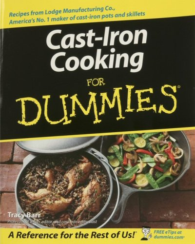 Lodge Cast Iron Cooking for Dummies Cookbook (Oven Cooking Book compare prices)