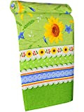 Pack of 6 Sunflower Kitchen Dish Towel 29'' x 14'' Vintage Style Decor Design Super Absorbent 100% Cotton Easter Gift Ornament Everyday Use Dish cloth Runner Washable Heavy Duty. BUY WITH BEST PRICE!