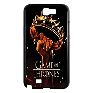 Samsung Galaxy N2 7100 Cell Phone Case Black Movies Game of Thrones Black Yellow Series Poster Crown Fantasy Drama George Martin ISU320884