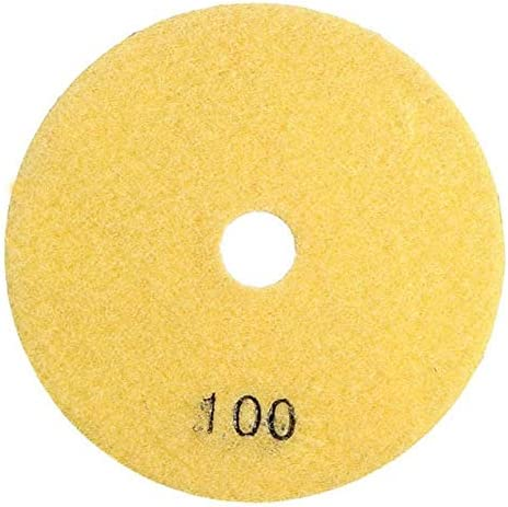 ZJN-JN Abrasives Abrasives 8pcs 4 Inch 50 to 3000 Grit Diamond Polishing Pads for Granite Stone Concrete Marble tool Industrial Abrasives
