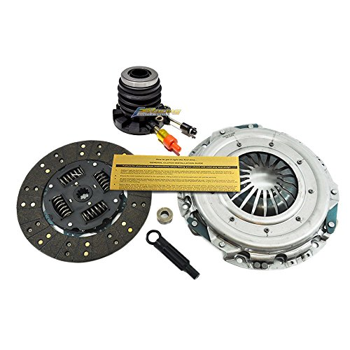 (EFT CLUTCH KIT w SLAVE CYL 97-08 FOR FORD F150 F250 PICKUP TRUCK 4.2L 4.6L MOTORCRAFT)