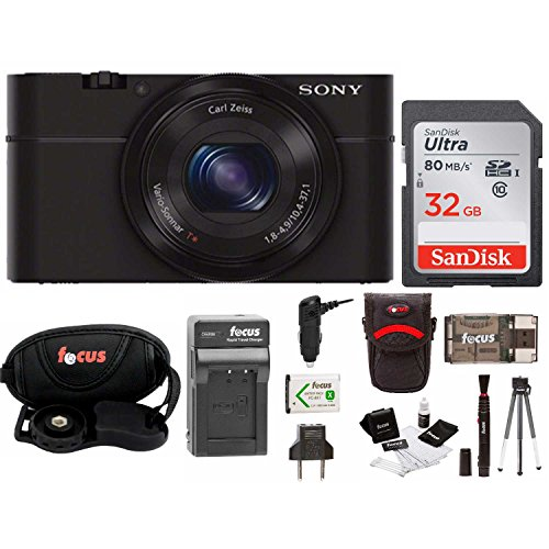 Sony Cyber-shot DSC-RX100 Digital Camera with Battery and 32GB SD Card Bundle Review