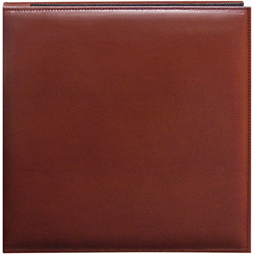 Pioneer 12 Inch by 12 Inch Snapload Sewn Leatherette Cover Memory Book, ()