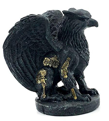 - Elaan31 22991 Griffin Statue Gargoyle Figure Gothic Medievel Steampunk Guardian