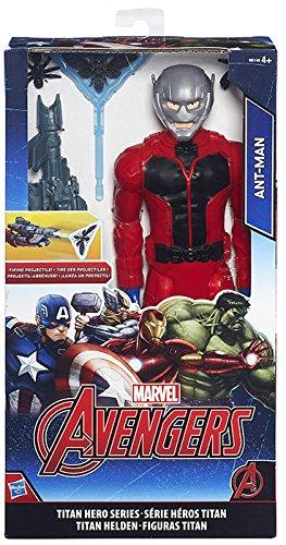 Hasbro B5773EU4 Marvel Avengers Titan Hero Series: Ant-Man / Black Panther (Selection not Possible)