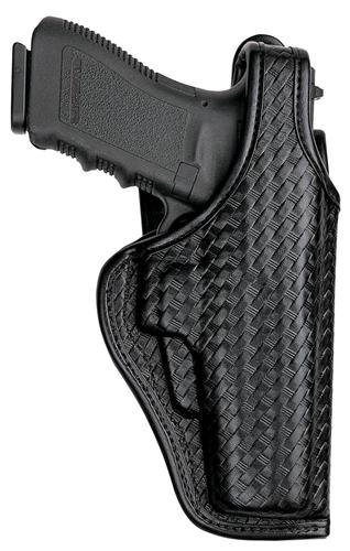 Bianchi AccuMold Elite 7920 Defender II Duty Holster -Size15 Beretta (Basketweave Black, Right Hand)