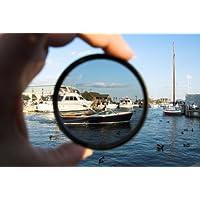 c-pl (polarizasyon filtresi) multi-malitesi yüksek işlem parçalı cam filtresi (72 mm) Nikon D7100 için
