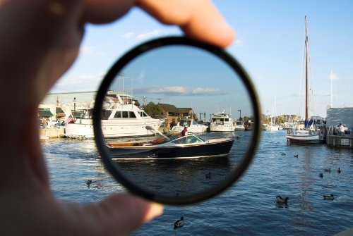 C-PL (Circular Polarizer) Multicoated | Multithreaded Glass Filter (55mm) For Sony Cyber-shot DSC-HX400 by Digital Nc