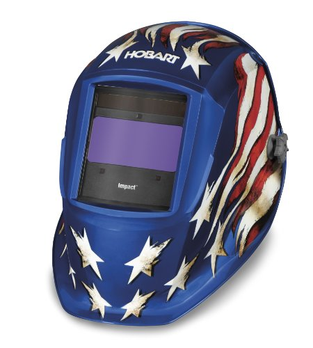 Hobart 770758 Impact Patriot3 Variable Auto-Dark Helmet