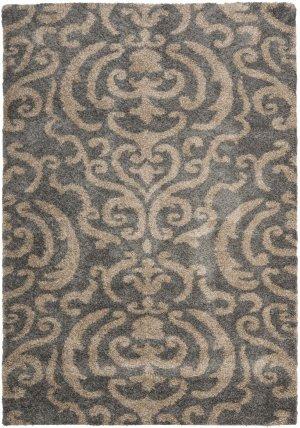 Shag & Flokati Rug - Shag Polypropylene Pile/Latex Backing/Weight 3600Gms/Sqm/Pile Height 3Cm -Grey/Beige Style-E Shag & Flokati/Large Rectangle/10'L x 8'W/Grey/Beige - 10' Flokati Area Rug