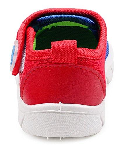 DADAWEN, Unisex-Kinder Sneaker Dunkelblau