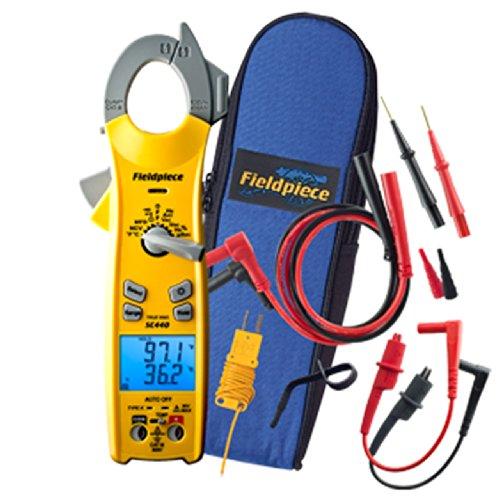 Fieldpiece SC440 True RMS Clamp Meter with Temperature