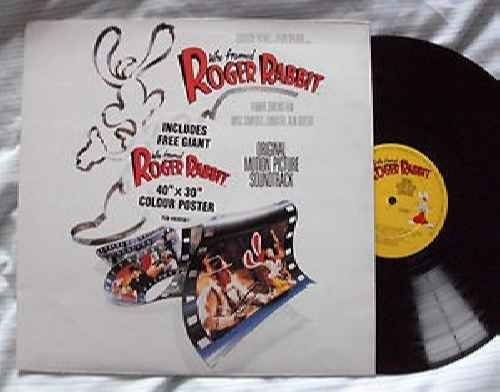 Who framed Roger Rabbit (1988, soundtrack) / Vinyl record [Vinyl-LP] Record Framed