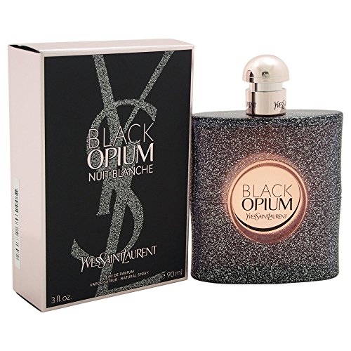 Yves Saint Laurent Black Opium Nuit Blanche Eau De Parfum Spray, 3...