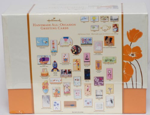 Amazon 41 hallmark handmade all occasion greeting cards bonus amazon 41 hallmark handmade all occasion greeting cards bonus box 24 all occasion greeting cards greeting card envelopes office products m4hsunfo