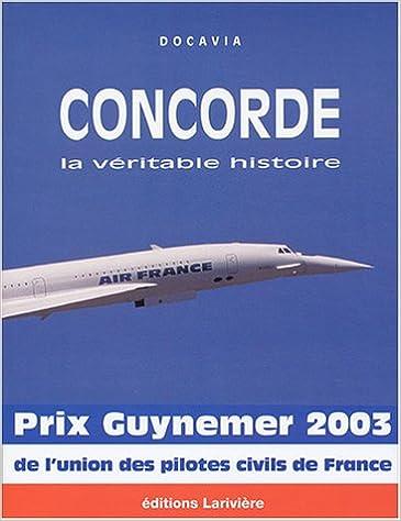 Livres gratuits Concorde, la véritable histoire epub pdf