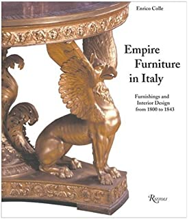 500 Years of Italian Furniture Magnificence and Design Enrico