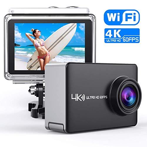 DLIUZ ULTRAHD-V7 4K/60fps Action Sport Camera (Best Gopro Camera For Skiing)