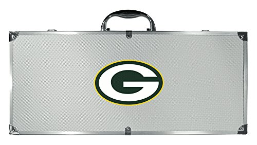 Siskiyou NFL Green Bay Packers 8-Piece Barbecue Set -