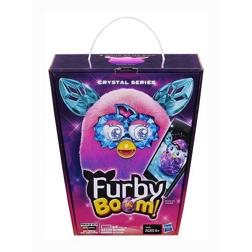 Furby Boom Crystal Series Figure (Pink to Purple)