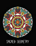 Sacred Geometry: Aztec Shield Mandala Art Journal Cover , Cornell Lined Notebook . Geometric Design for Yoga, Meditation , Dream Diary or Notes for Work or School.
