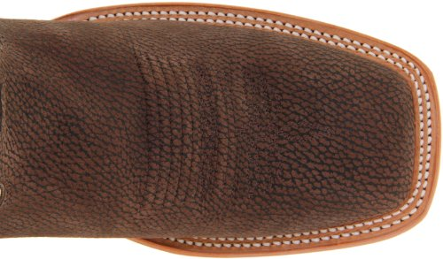 Pictures of Justin Boots Men's U.S.A. Chocolate Bisonte/White Classic 2