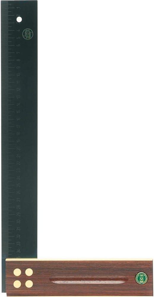 EMMERICH GMBH E KG 407 Tischlerschmiege L.300mm m.Langloch Buchenholzschenkel ECE Ms.-Beschlag CO C