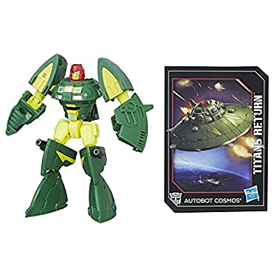 Transformers: Generations Titans Return Legends Class Autobot Cosmos: Toys & Games