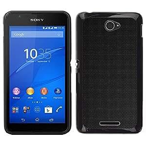 """For Sony Xperia E4 , S-type Simple Patrón 6"""" - Arte & diseño plástico duro Fundas Cover Cubre Hard Case Cover"""