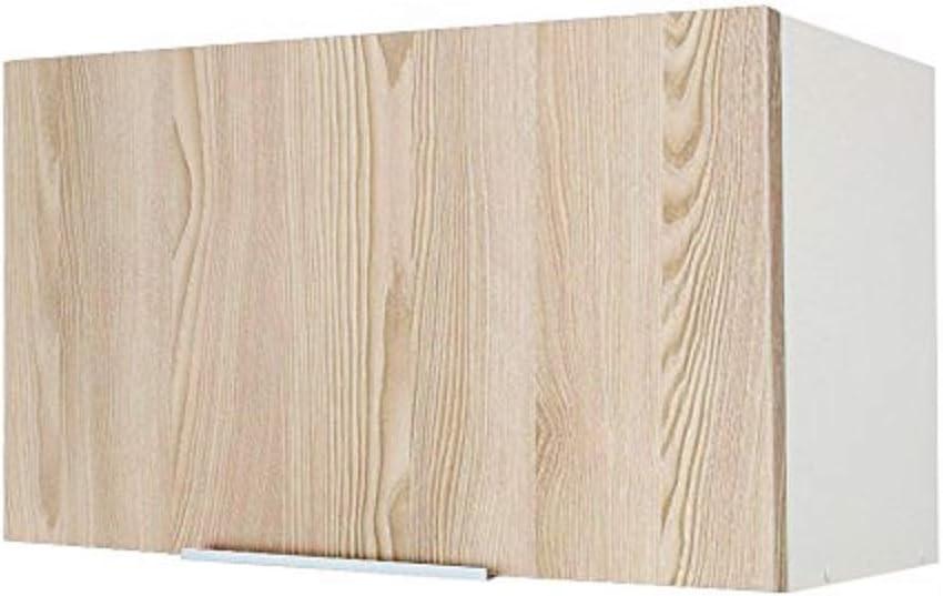 Berlioz Creations – Subwoofer Alto de Cocina sobre Campana 60, Paneles de partículas, Fraxinus Sablé, 60 x 34 x 35 cm: Amazon.es: Hogar