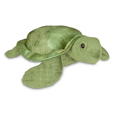 Bearington Shelton Plush Sea Turtle Stuffed Animal, 12 Inches: Toys & Games