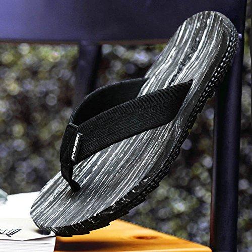 Sandali Tendenza Attillati Esterni Sandalo Uomo Legno In Per Da Uomo Di Spiaggia Pantofole Antiscivolo Pq5x4f74