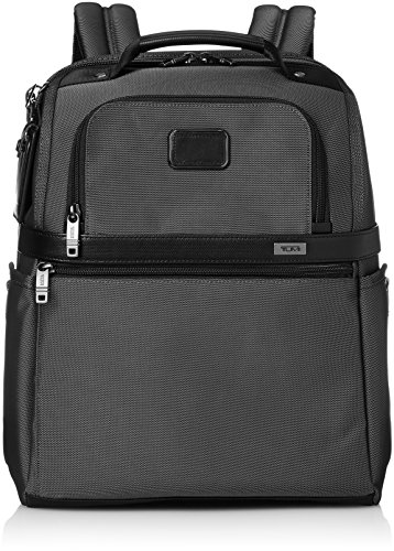 Tumi Alpha Slim Solutions Brief Pack Briefcase, Pewter, One Size