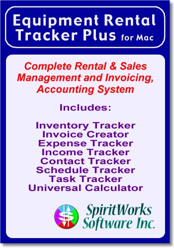 Equipment Rental Tracker Plus for Mac [Download] by SpiritWorks Software Inc.