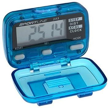 How do you use the Sportline pedometer?