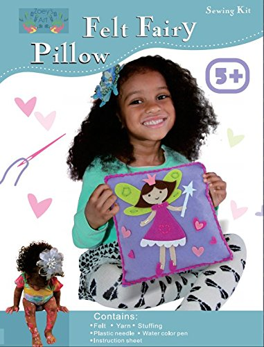Sewing Craft Kit for Girls : Beginners Sew Art Kit, Kids Fairy Pillow, Create Fun Enjoyable Educational Imaginative Play Time Your Child Will Love - Enjoy Bonding With Your Children - Crafts Sewing Easter