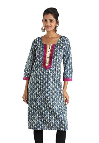 Damen Indiankala4U Kleid Kleid Damen Grün Grün Indiankala4U w1xS4Hq