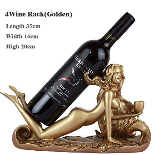 Wine Rack Resin Holder Stemware Rack Stones For Whisky Bottle Shelf Beer Brewing Equipment Stand For Bottles JJ071 2 golden