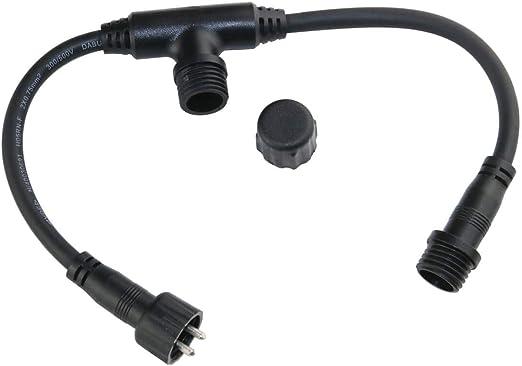 vbled 12 V Cable alargador para exteriores – adecuado para jardín de iluminación, bombas, luz cadena, UV.: Amazon.es: Iluminación