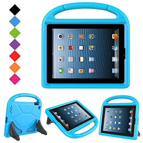 LTROP Apple iPad 2 3 4 Kids Case - Light Weight Shock Proof