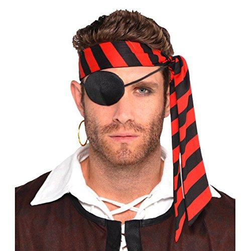 Costumes USA Pirate Headscarf (Striped Head Scarf)