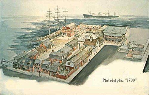 Old Colonial Steak - Philadelphia 1700 Philadelphia, Pennsylvania Original Vintage Postcard