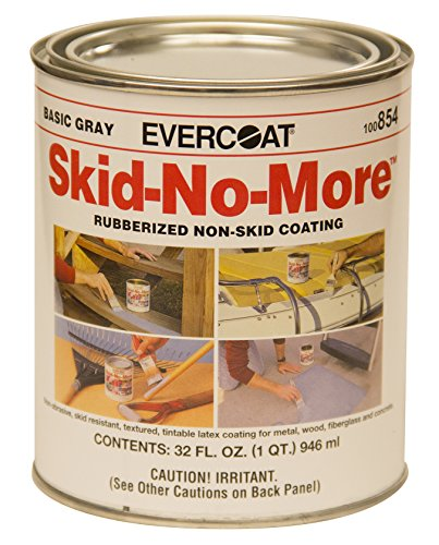 (Evercoat 100854 Skid-No-More Rubberized Non-Skid Coating, 1 Quart)